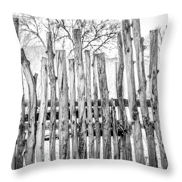 Throw Pillow featuring the photograph Made From Nature by Marilyn Hunt