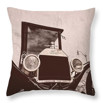Made In Usa Throw Pillow by Caitlyn  Grasso