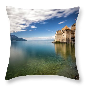 Made In Switzerland Throw Pillow
