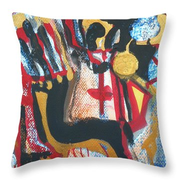 Madonna-1 Throw Pillow