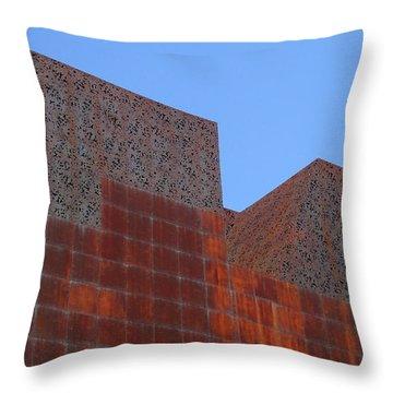 Caixa Forum Throw Pillows