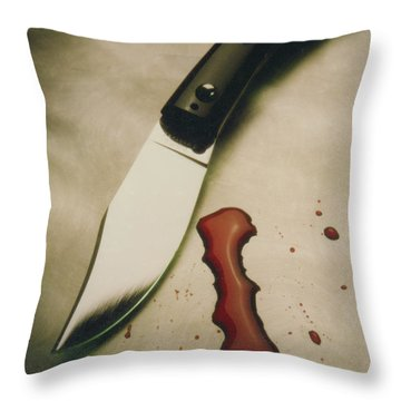 Maffia Throw Pillow