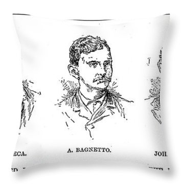 Mafia Leaders, C1890 Throw Pillow by Granger