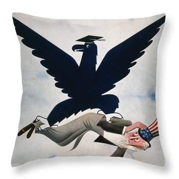 Magazine: New Deal, 1934 Throw Pillow by Granger