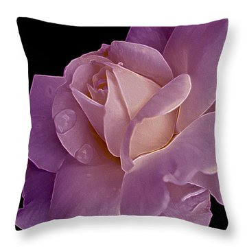 Magenta Queen 8  Throw Pillow