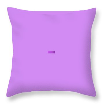 Magenta Waves  Throw Pillow by Margalit Romano