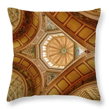 Magestic Architecture Throw Pillow