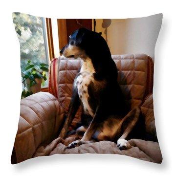 Maggie's Spot Throw Pillow