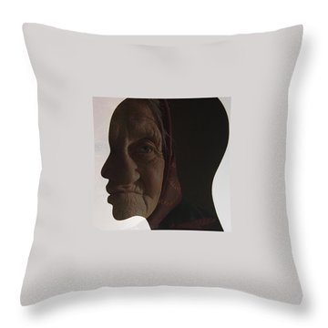 Magi Was A Boy Throw Pillow