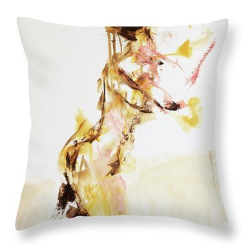 Magic 04999 Throw Pillow by AnneKarin Glass