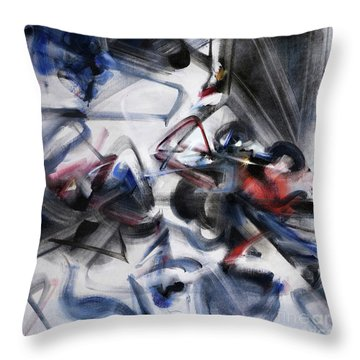 Magic And Science Throw Pillow