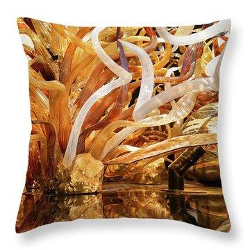 Magic Art In Glass Throw Pillow