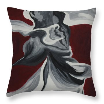 Magic Dance Throw Pillow