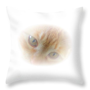 Magic Eyes Throw Pillow