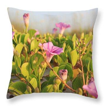 Magic Garden Throw Pillow