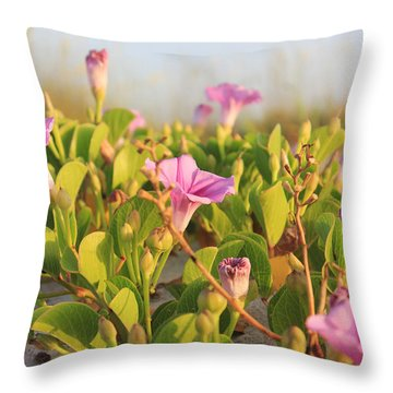 Throw Pillow featuring the photograph Magic Garden by LeeAnn Kendall