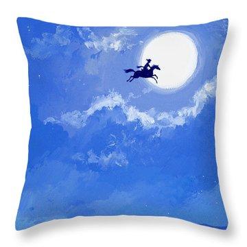 Magic Horse Throw Pillow