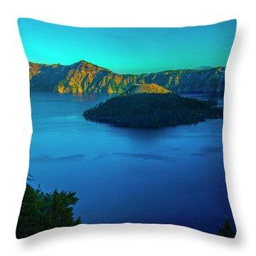 Magic Hour Throw Pillow