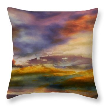 Magic Hour IIi Throw Pillow