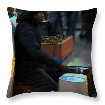 Magic In Love Park Throw Pillow