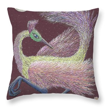 Magic Moon Dance Throw Pillow