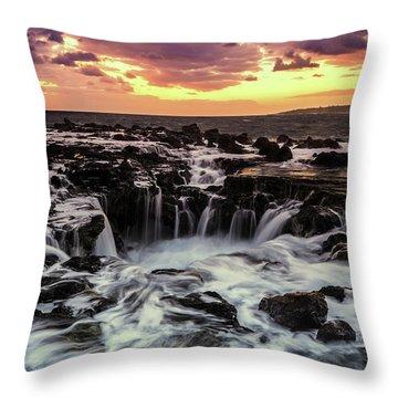 Magic Of Kauai Throw Pillow