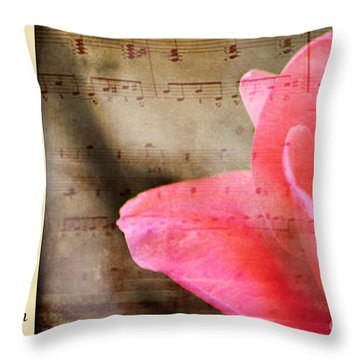 Magic Of Music Throw Pillow
