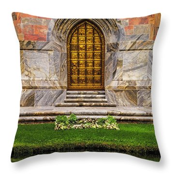 Magic Portal Throw Pillow