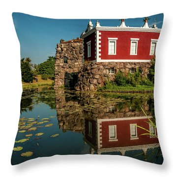 Magic Rock Throw Pillow