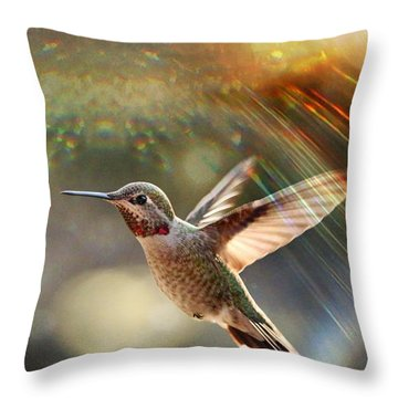 Magic Throw Pillow by Rory Sagner