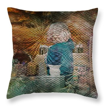 Magic Shop Throw Pillow