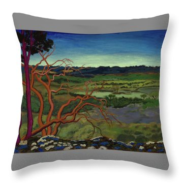 Magic Trees Of Wimberley Throw Pillow