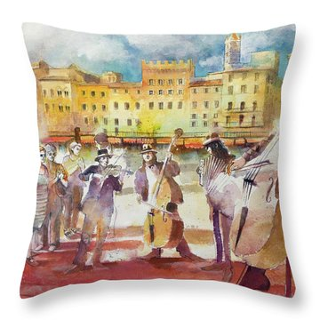 Magica Siena Throw Pillow by Alessandro Andreuccetti