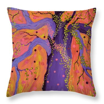 Magical Throw Pillow by Alison Caltrider