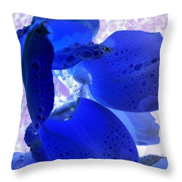 Magical Flower I Throw Pillow