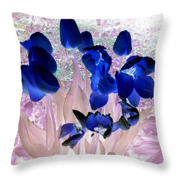 Magical Flower I I Throw Pillow
