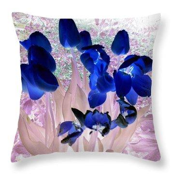 Magical Flower I I Throw Pillow
