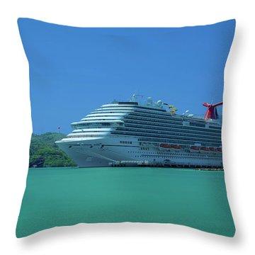 Magical Getaway Throw Pillow