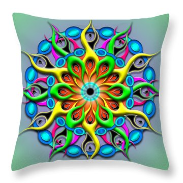Magical Hypnosis Throw Pillow