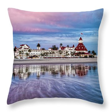 Throw Pillow featuring the photograph Magical Moment Horizontal by Dan McGeorge