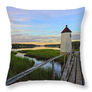 Magical Morning Musings Throw Pillow