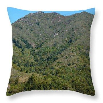 Magical Mountain Tamalpais Throw Pillow by Ben Upham III