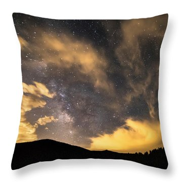 Magical Night Throw Pillow by James BO Insogna