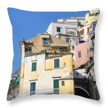 Magical Passage Throw Pillow by Allan Levin