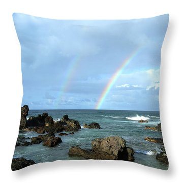 Magical Place Throw Pillow by Suzette Kallen