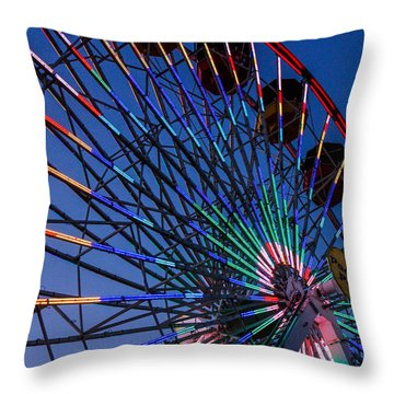 Magical Throw Pillow by Robert Hebert