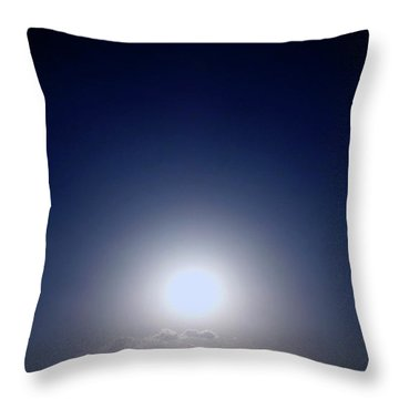 Magical Sunset In Africa Throw Pillow