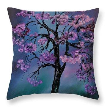 Magical Tree                  66 Throw Pillow
