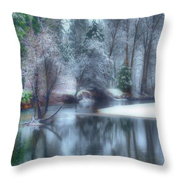 Magical Touch To Yosemite Throw Pillow