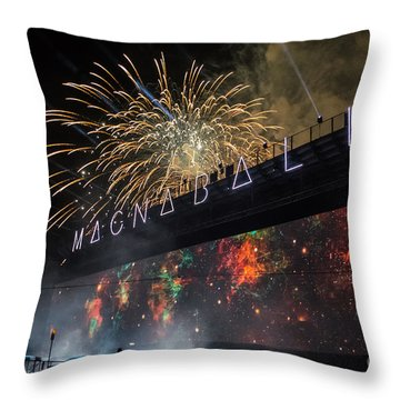 Magnaball Finale Throw Pillow
